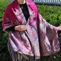 India Nepal style folk style jacquard scarf and large thick air Phoenix female pashmina