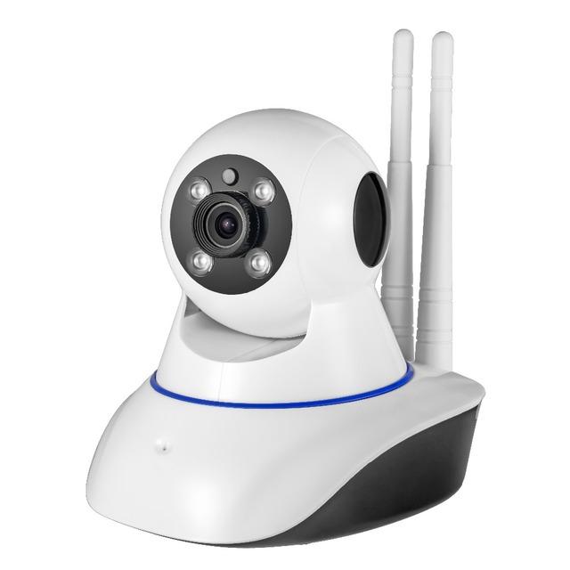 HD Sem Fio Câmera de Segurança IP WifiI Visão IR-Cut Noite Câmera de Rede De Vigilância De Gravação de Áudio Baby Monitor Sensor de Alarme