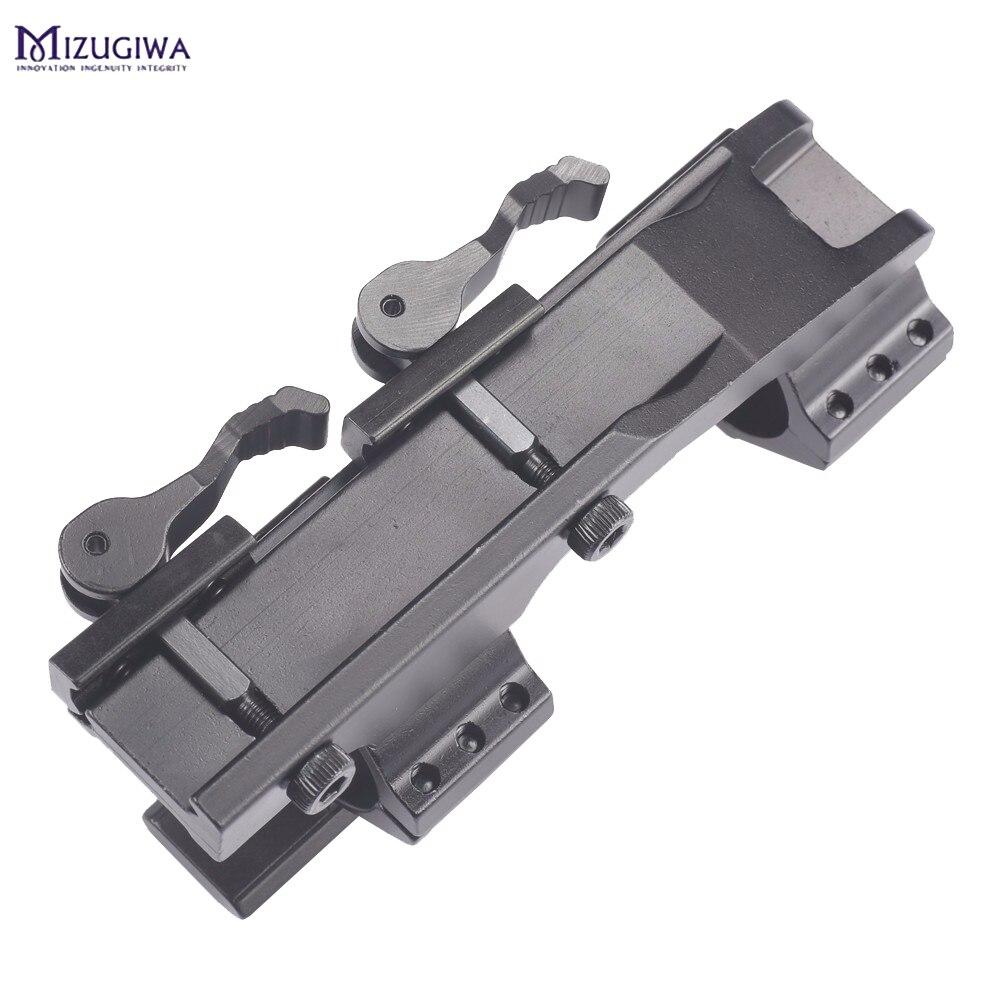 ferroviário montagem anel 20mm escopo rifle de