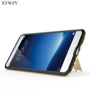 Image 4 - Pour la Couverture Vivo X20 Plus Étui Silicone Robot En Caoutchouc Dur Couverture de Téléphone étui pour Vivo X20 Plus Pour Vivo X20Plus Coque XYWZV