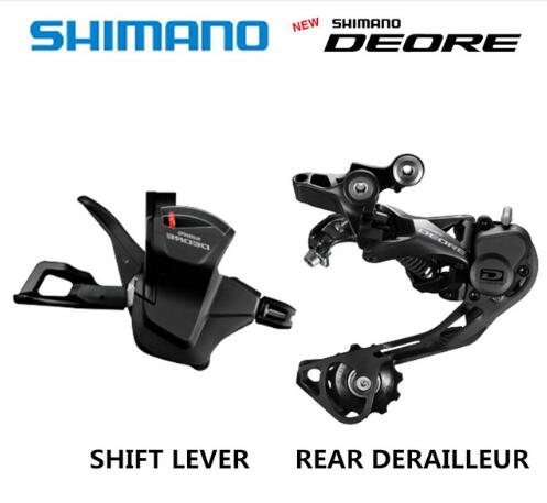 SHIMANO DEORE M6000 Groupset SL M6000 SHIFT LEVER RD M6000 REAR DERAILLEUR MTB DEORE 10 SPEED