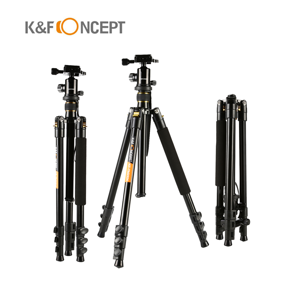 Protable Travel Photography font b Tripod b font Aluminum Ball Head font b Tripod b font