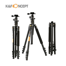 Protable Travel Photography Tripod Aluminum Ball Head+Tripod To Monopod For Canon Nikon Sony DSLR Micro-camera Tripod