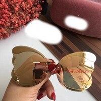 AK0186 2019 Роскошные Подиумные Солнцезащитные очки женские дизайнерские солнцезащитные очки для женщин Carter очки