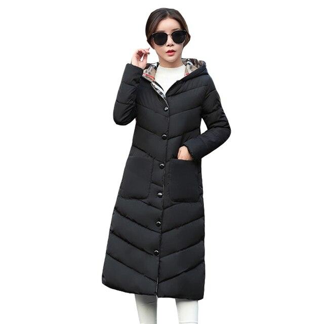 2019 Novas Mulheres Casaco de Inverno Longo Parkas Feminino Espessamento Algodão Revestimento Das Mulheres Outwear Inverno Parkas Inverno para As Mulheres Outwear Quente
