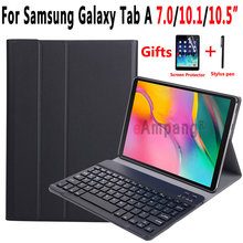 Bluetooth Keyboard Case for Samsung Galaxy Tab A A6 10.1 2016 2019 T580 T585 T580N T510 T515 10.5 2018 T590 T590 7.0 T280 T285
