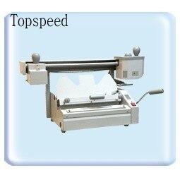 Perfect book binding machine with roughener unit