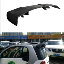 Mercedes SMART FORTWO Carbon fiber Rear Trunk Spoiler Wing for Benz SMART FORTWO 2009~2015( not fit for convertible)