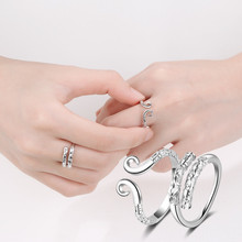 Everoyal Personality Clouds Design Rings For Women Couple Jewelry Vintage 925 Sterling Silver Girls Bride Wedding Bijou
