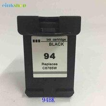 Einkshop compatible Ink cartridge replacement For HP 94 Psc 1610 1510 2350 Deskjet 5740 6540 Officejet H470 100 ink