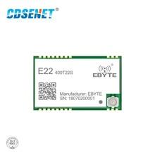 E22 400T22S SX1262 SX1268 UART LoRa Net fonctionne RSSI émetteur récepteur sans fil 22dbm 433MHz SMD IPEX tampon trou Module TCXO récepteur