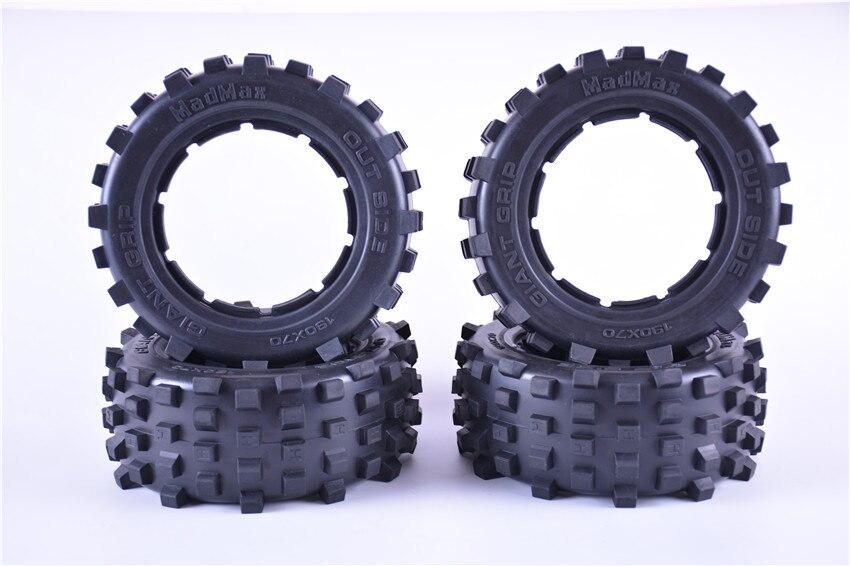 Giant grip tires Off road tires Big tread tire skin for Rovan LT KMX2 LOSI 5IVE T DBXL