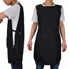 Hairdresser Super Quality Hairdressing Hair Cutting Apron Front-Back Cape untuk Barber Hairstylist Styling Cloth