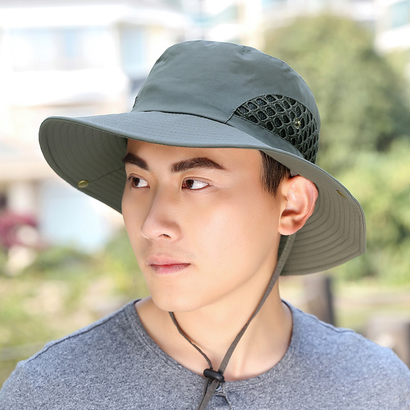 6a2e5aa87ce Товар Men women Sun Hats Summer Fashion boys girls Bucket Hat Wide ...