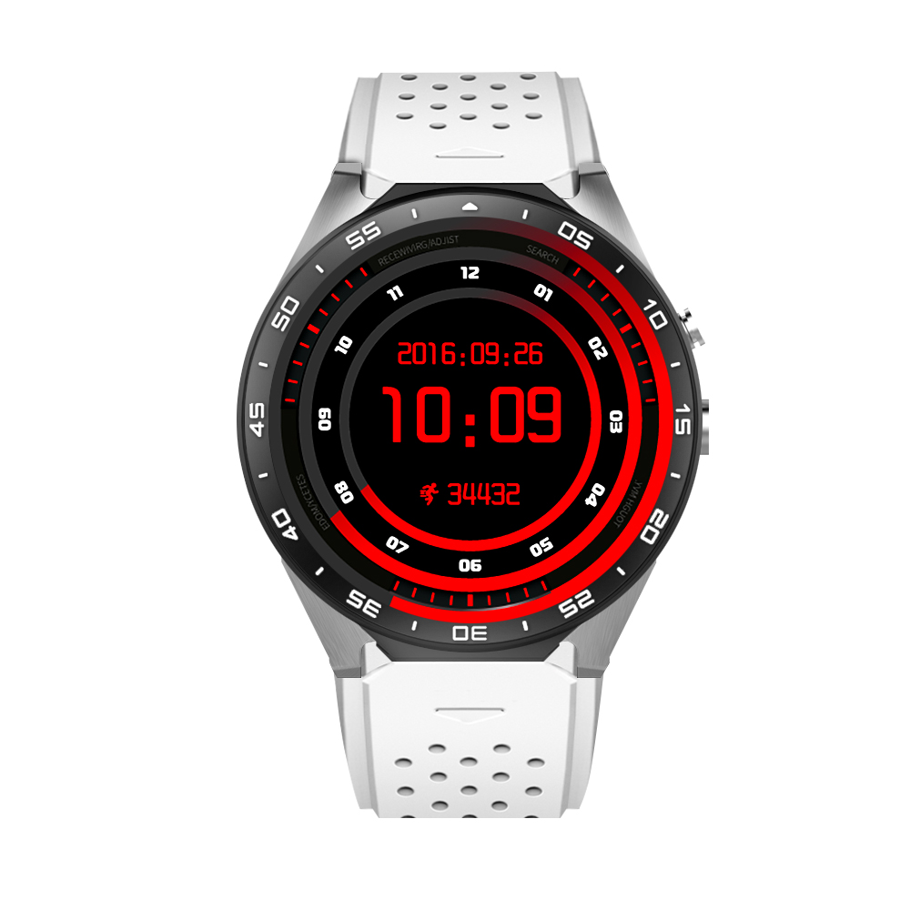 Kw88 android 5.1 OS Smart watch electronics android MTK6580 quad core Processor Heart Rate 3G wifi Wireless SmartWatch slimy dm368 sports smart watch phone mtk6580 android os 3g wifi gps heart rate oled quad core bluetooth smartwatch pk dm98 dm09