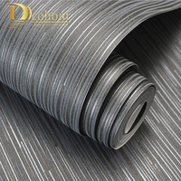 Fashion Simple Solid Color Striped Wallpaper For Walls 3D Home Wall Paper Rolls For Bedroom Living