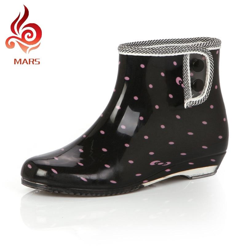 disfruta del precio inferior venta caliente bonito diseño Estilo de verano Botas de Lluvia Zapatos De Mujer De Moda ...