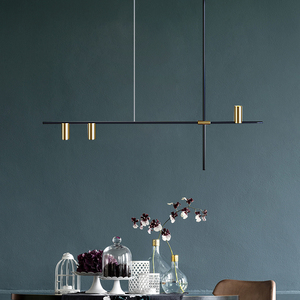Image 2 - Scandinavian Post modern LED Ceiling Chandeliers Lighting Creative Designer Hanging Lamp Dining Room Living Room Coffee Lustre