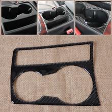 DWCX Car Interior Water Cup Holder Panel Carbon Fiber Decoration Sticker Molding for Audi A4 B8 A5 2009 – 2012 2013 2014 2015
