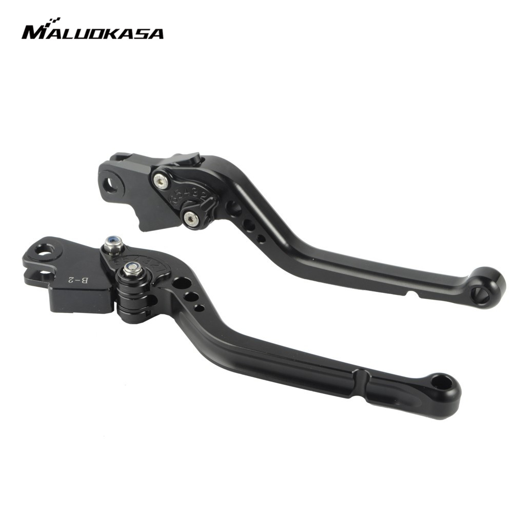 MALUOKASA CNC Brake Clutch Lever For BMW R1200GS ADVENTURE 2006 2007 2008 2009 2010 2011 2012 2013 BMW K1200R SPORT 2006-2008 new cnc billet clutch cover outside for ktm 250 xcf w 2008 2009 2010 2011 2012 2013