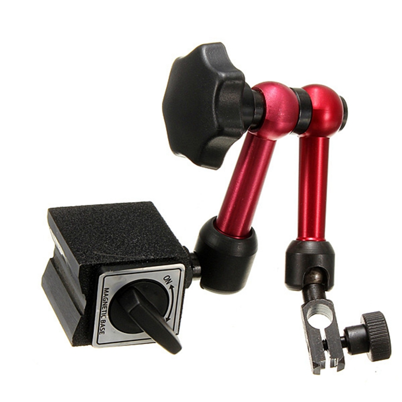 Mini Universal Flexible Magnetfuß Halter Ständer & für Messuhr Werkzeug