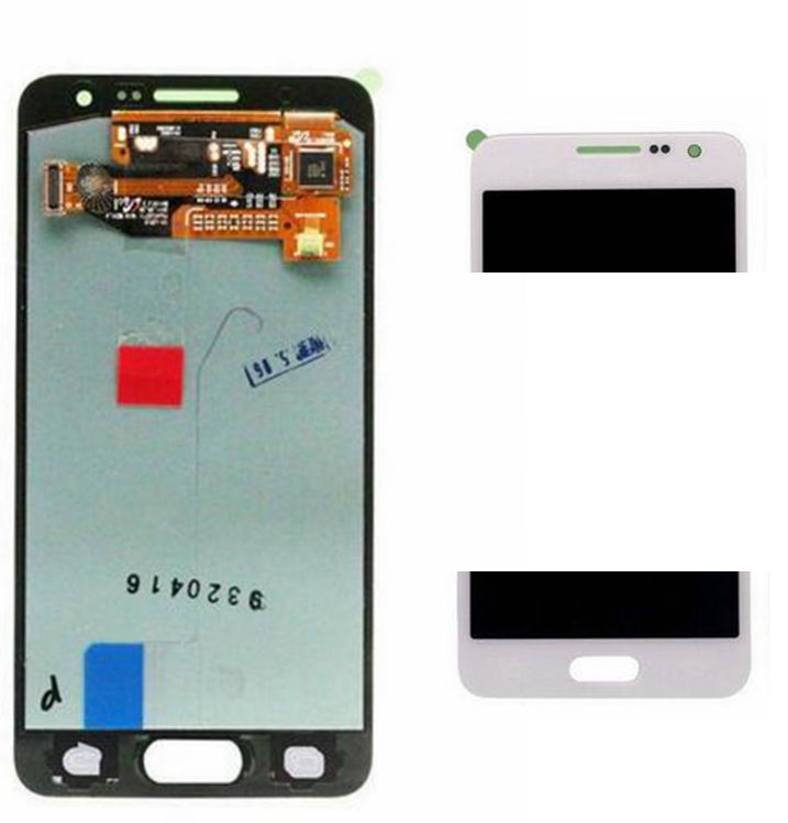 2015 White color Lcd display+Touch Digitizer Screen assembly for Samsung Galaxy A3 A3000 SM-A300F repair parts free shipping