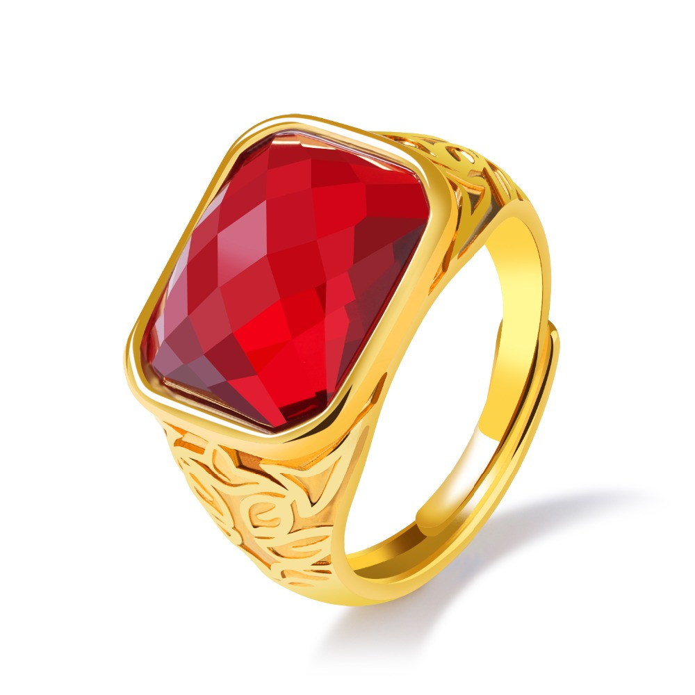 Ruby Red Ring How To Select