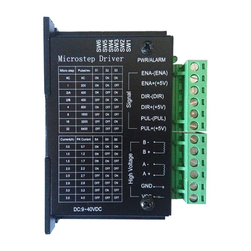 Neue 42/57/86 verbesserte version TB6600 schrittmotortreiber 32 segmente upgrades 4.0A 42VDC cnc-fräsermaschine part werkzeuge