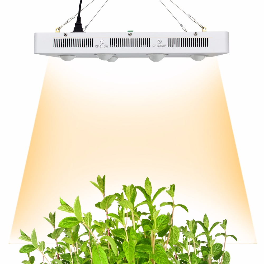 Citizen COB LED Grow Light Full Spectrum 600W 900W 3500K 5000K = HPS 400W 600W Growing Lamp Indoor LED Plant Veg Flower Lighting