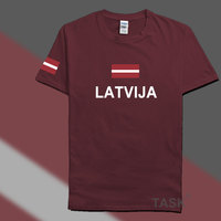 Latvia Latvija Men T Shirts Fashion 2016 Jerseys Nation 100 Cotton T Shirt Clothing Tees Country