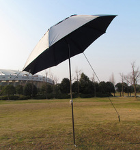 Wholesale folding  fishing umbrellas sand garden umbrella  paint steel  advertising  UV sunshade rain umbrellas