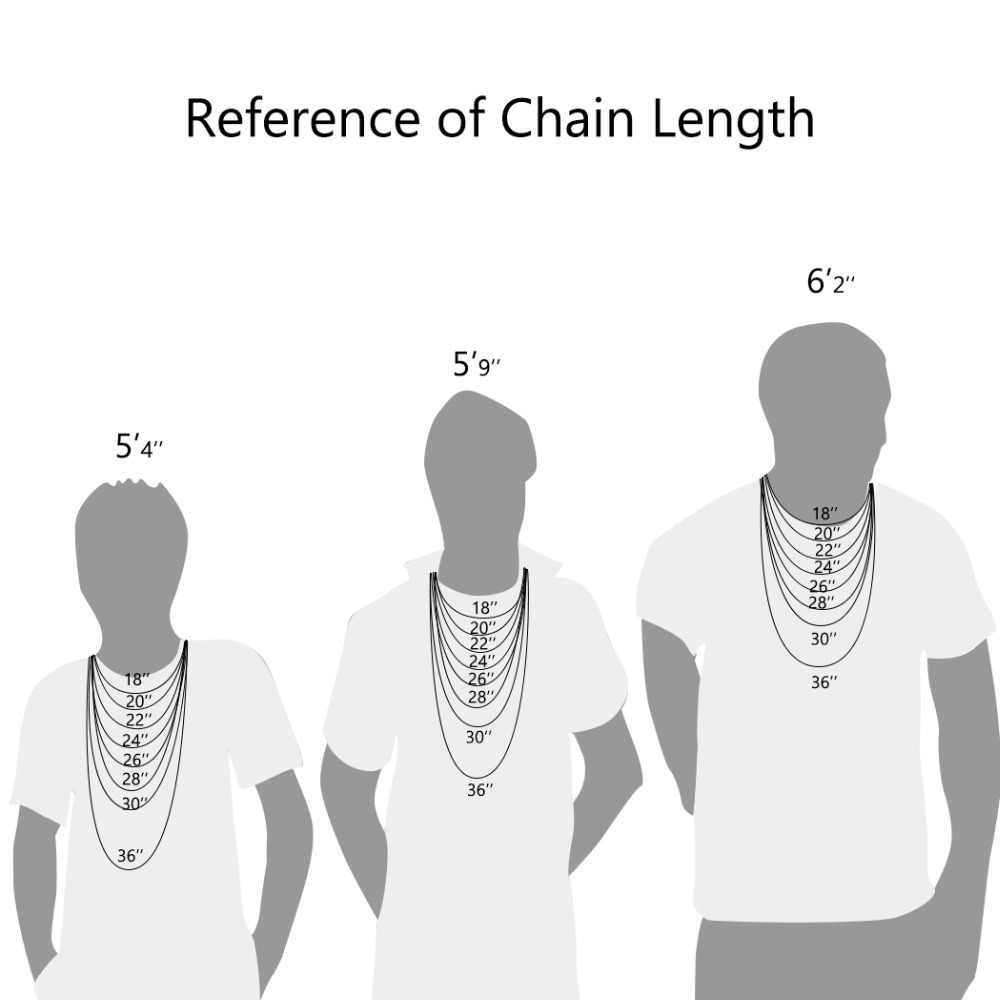 U7 męska długi łańcuch kubański Link 45-76cm 10mm Hip Hop długie naszyjniki dla mężczyzn złoty kolor męskie dodatki ze stali nierdzewnej N1123