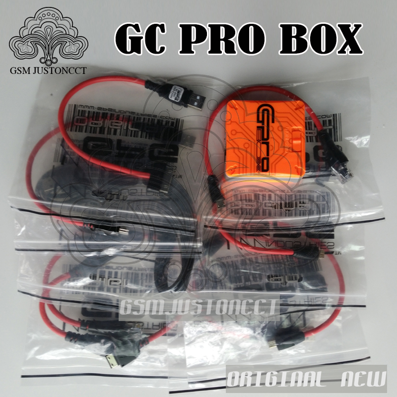 GC Pro Box with 7cables unlock for Samsung,for ZTE ,for HUAWEI,for MTK