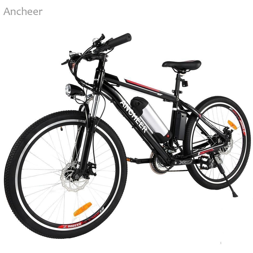 Ancheer 26 inch Wheel Aluminum Alloy Frame Mountain Bike Cycling Bicycle Black rear wheel hub for mazda 3 bk 2003 2008 bbm2 26 15xa bbm2 26 15xb bp4k 26 15xa bp4k 26 15xb bp4k 26 15xc bp4k 26 15xd