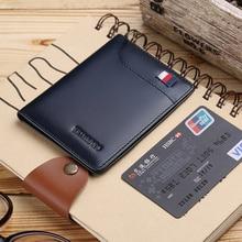 WILLIAMPOLO Brand Men Wallet Short Ultrathin Credit Card Hol