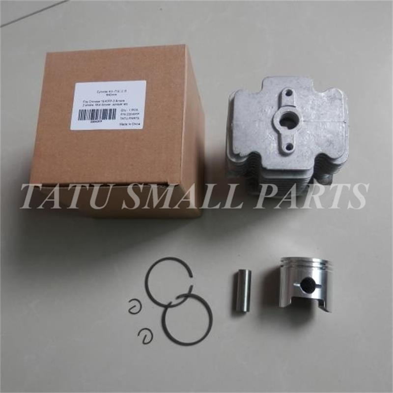 1E40F-3 40MM CYLINDER w/ PISTON KIT 40MM 1E40FP-3 40F-3 3WF-2.6 2 STROKE MIST-duster BLOWER ZYLINDER KOLBEN ASSY SPRAYER PARTS