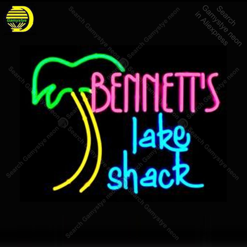 Neon Sign Lake Shack Palm Tree Neon Signs for Restaurant Glass Tubes Neon Bulbs Signboard decorate Room wall Handcraft Bar signNeon Sign Lake Shack Palm Tree Neon Signs for Restaurant Glass Tubes Neon Bulbs Signboard decorate Room wall Handcraft Bar sign