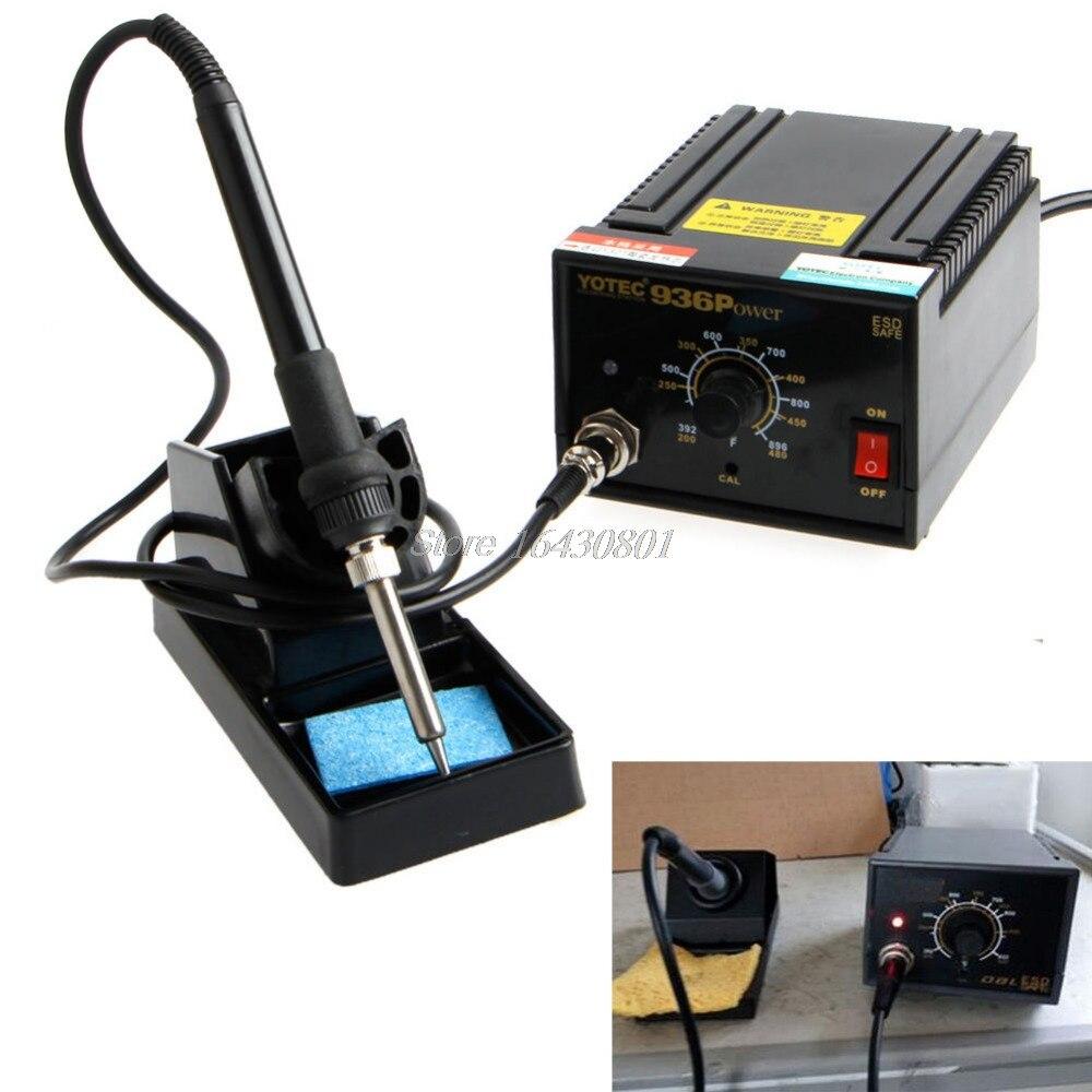 936 Puissance Électrique matériel de soudure SMD Rework Fer à Souder 110 V 220 V S08 livraison directe
