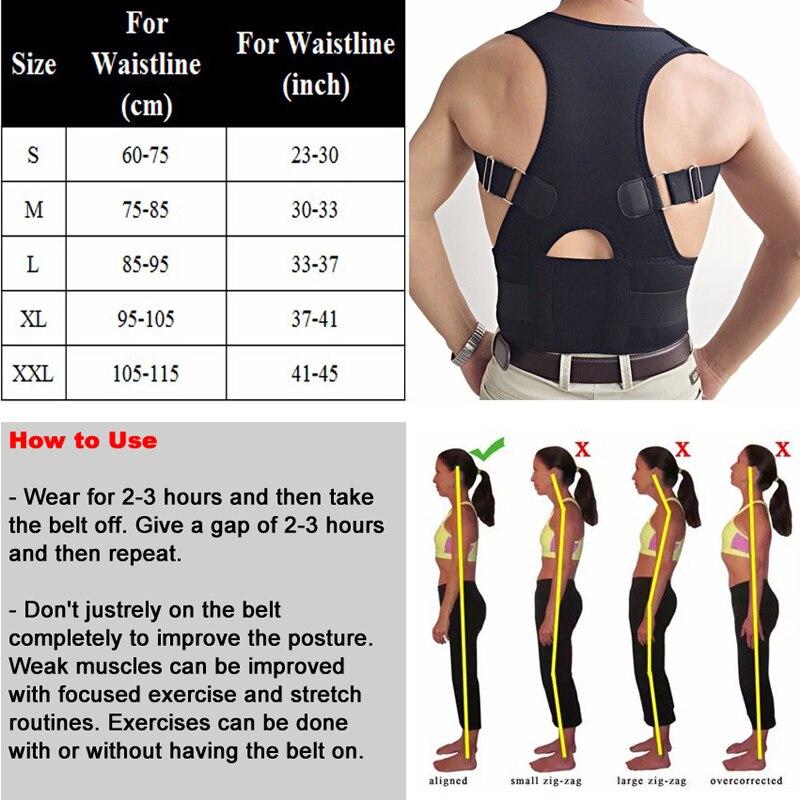 Медицинские терапия ремень Корректор осанки нижней части спины поясничной Поддержка пояса блокнот для Для женщин Брейс коррекции Регулиру...