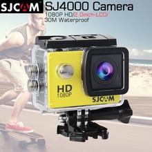 Оригинал SJCAM SJ4000 2.0 Действий Камеры Дайвинг 30 М Водонепроницаемая Камера 1080 P Full HD 170 Градусов Спорт Камеры SJ 4000 SJCAM Оригинала