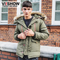 2016 Men's Winter Jacket Mens Hoody Wadded Coat Winter Cotton-Padded Jacket Slim Casual Youth  Clothes T44-MC241