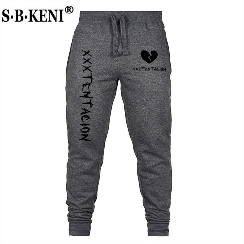 2019 Hot Xxxtentacion Rapper Print Casual Pants Men Women's Cotton Pants Jogger Casual Trousers Harem Pants Straight Pants