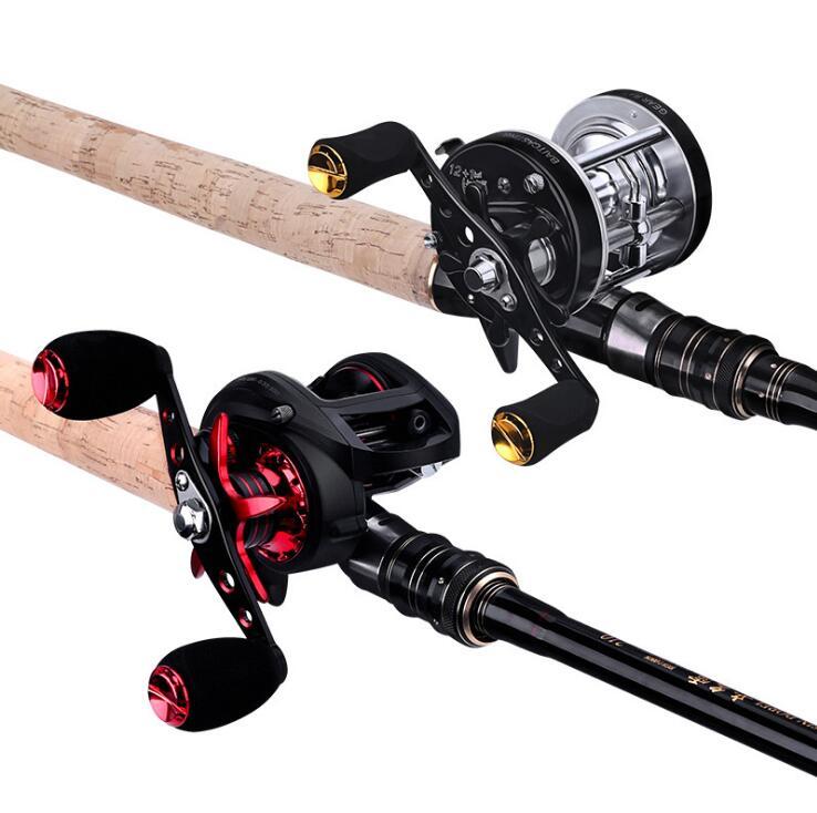 Super dur tonnerre puissant Set léger et lourd h/XH leurre canne à pêche 2.1 m/2.28 m noir spécial canne à poisson noir