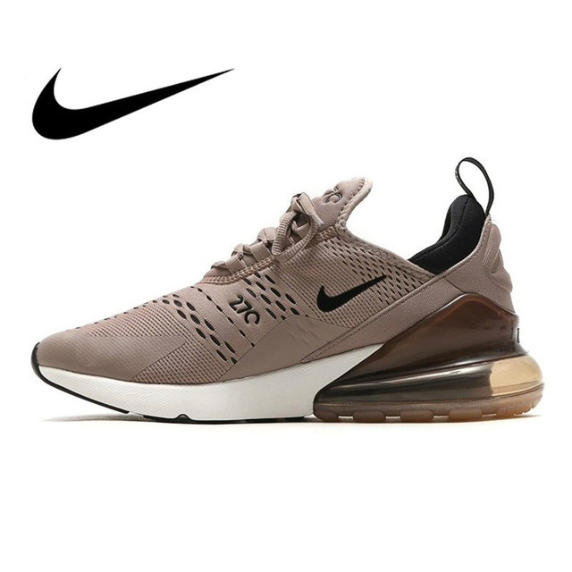 1ebf4405e7 US $52.81 46% OFF|Original Authentic Nike Air Max 270 Mens Running Shoes  Sports Outdoor Sneakers Comfortable Breathable New Arrival AH8050 200-in ...