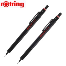 Rotring 500 0.5/0.7mm מכאני עיפרון אוטומטי עיפרון פלסטיק מחזיק עט מתכת knurling גריפ 1 חתיכה