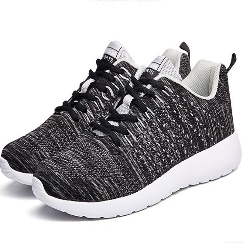 все цены на Face Force Men's Running Shoes 2017 Black Outdoor Antiskid Jogging Tourism Walking Athletic Shoes Unique Trend Sports Shoes онлайн