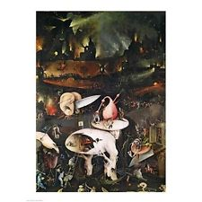 THE GARDEN OF EARTHLY DELIGHTS POSTER Hieronymus Bosch In Painting U0026  Calligraphy From Home U0026 Garden On Aliexpress.com | Alibaba Group