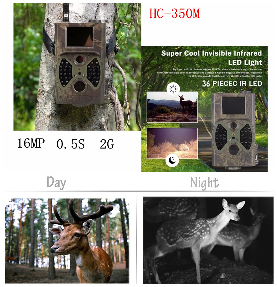 ФОТО HC350M Hunting Game Camera MMS Photo trap HD Scouting Infrared Outdoor Hunting Trail Video Camera