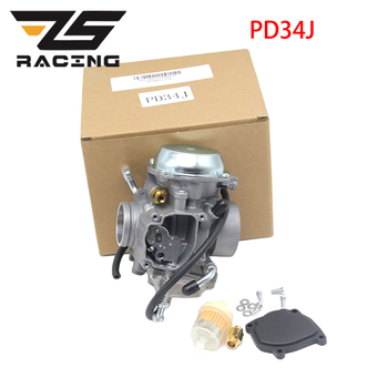 ZS Racing PD34J 34mm Motorcycle carburetor Carb For POLARIS Xplorer 400 Sport 400  Scrambler 400 Ranger 400 ATV UTV Dit Pit Bike