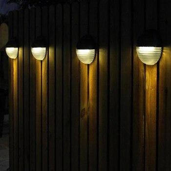 6 Led Solar Light Outdoor Garden Solar Wall Lamp/Solar Street Light Waterproof Solar Powered/Solar Led Lights Bulb